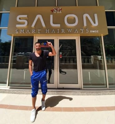 Rami Yassine in Smart Hairways Salon